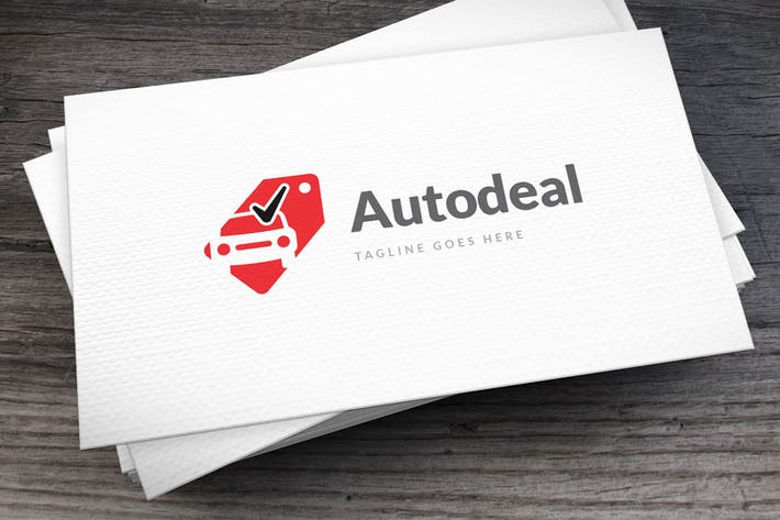 Thumbnail for Autodeal Logo Template