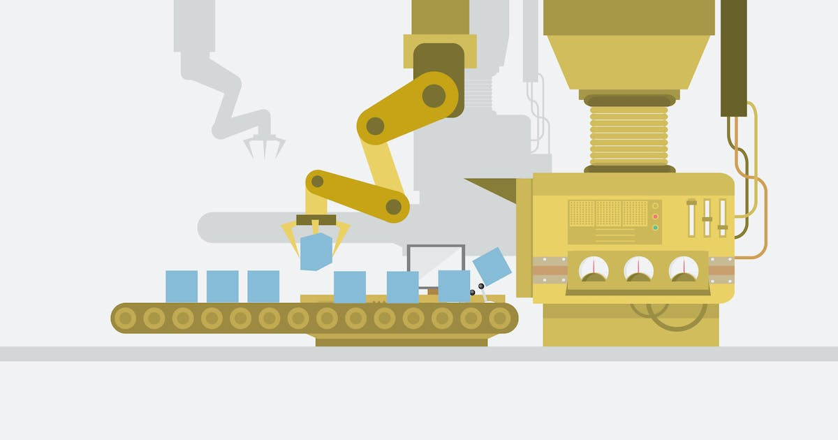 Download Factory - Illustration Background by Graphiqa