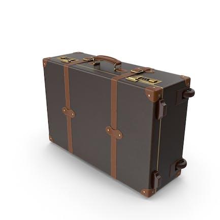 Moderner Koffer aus Leder