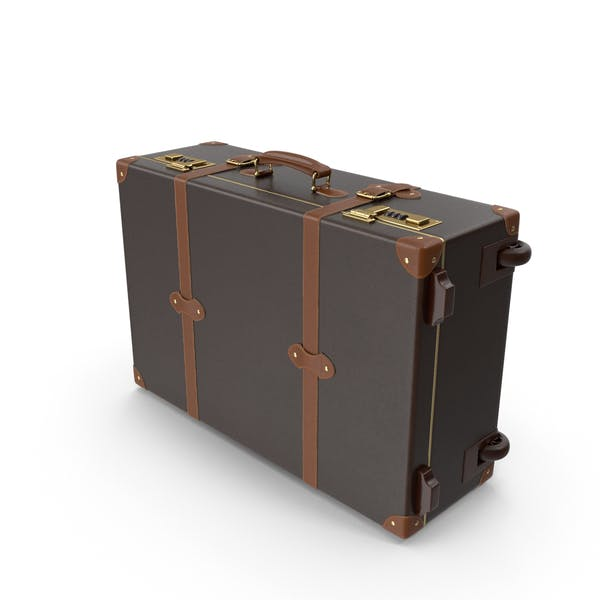 Cover Image for Modern Leather Suitcase