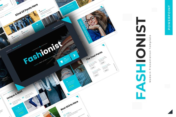 Thumbnail for Fashionist - Powerpoint Template