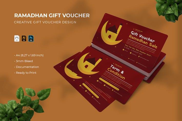 Ramadhan Sale | Geschenkgutschein
