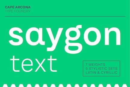 Texto de CA Saygon