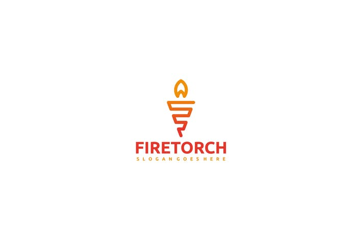 Thumbnail for Fire Torch Logo