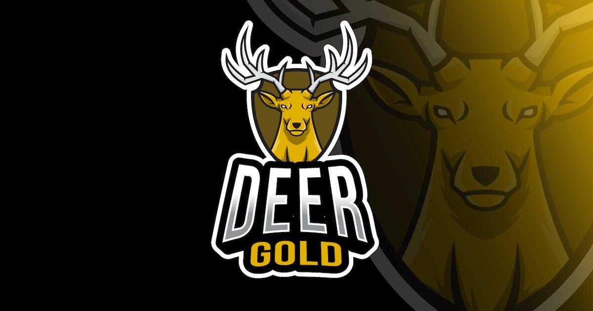 Download Deer Gold Esport Logo Template by IanMikraz