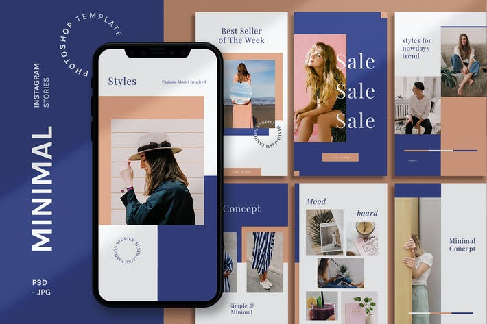 Cover Image For Minimal - Instagram Stories Template