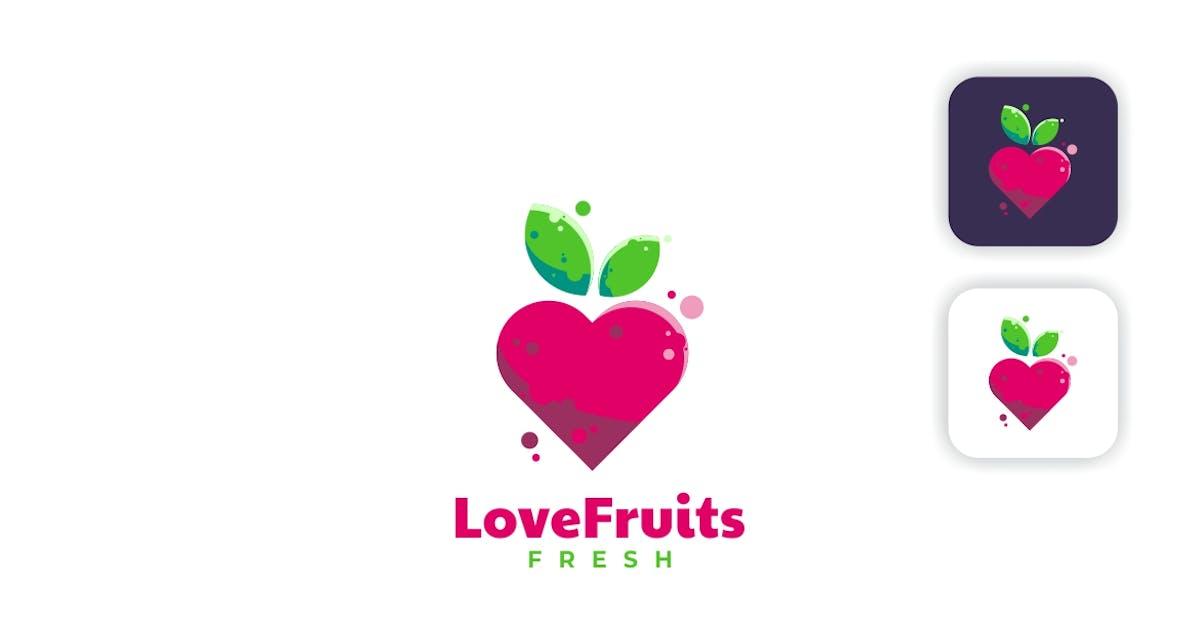 Download Love Fruit Simple Logo by artnivora_std