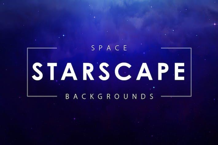 Weltraum-Sternlandschaft Hintergründe