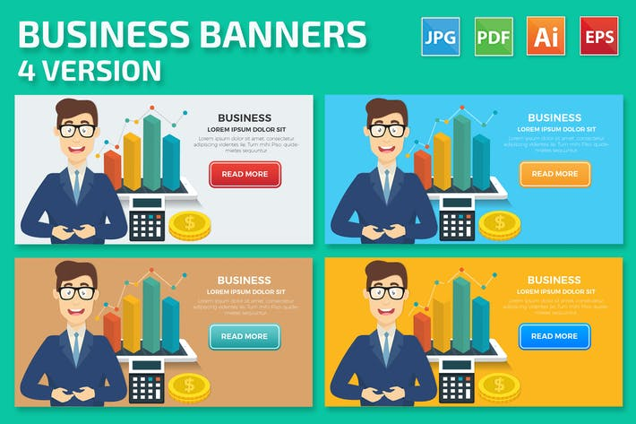 Thumbnail for Business Banners Design