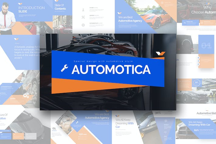 Thumbnail for Automotica Keynote Templates
