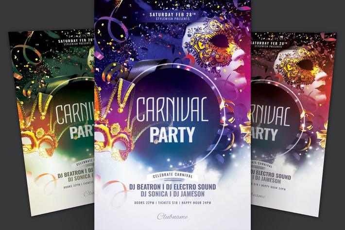 Thumbnail for Carnival Party Flyer