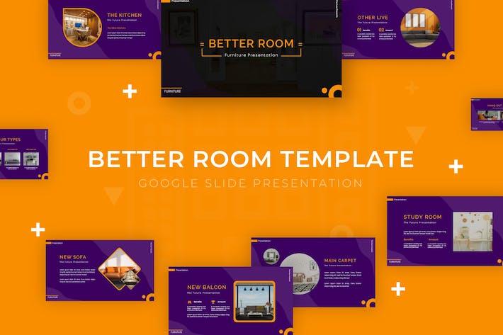 Thumbnail for Better Room - Google Slide Template