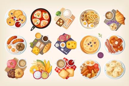 Frühstück der Welt