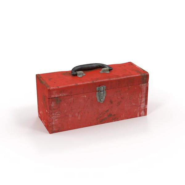Dirty Metal Tool Box