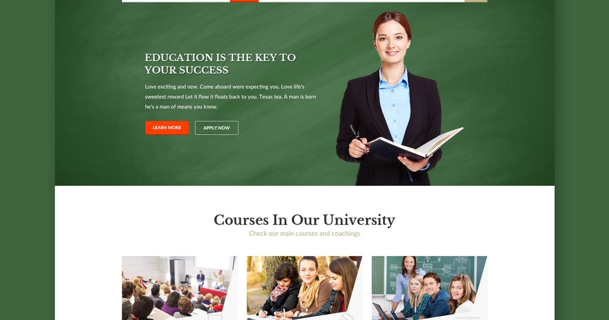 Download Educampus - Education & University HTML Template by WPmines