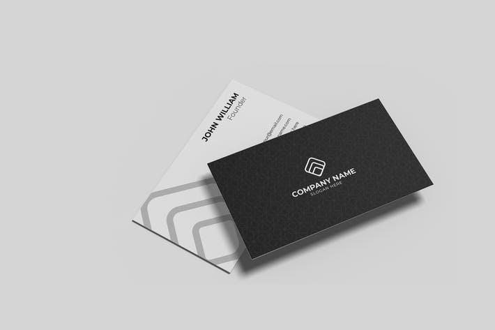 Thumbnail for Minimalist Business Cards Mockup Vol. 4.4