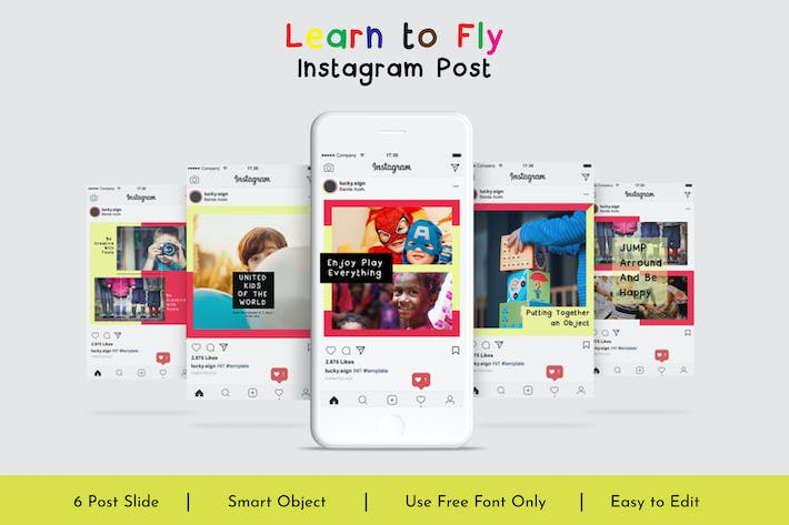 Thumbnail for Learn to Fly Instagram Post Vol.13