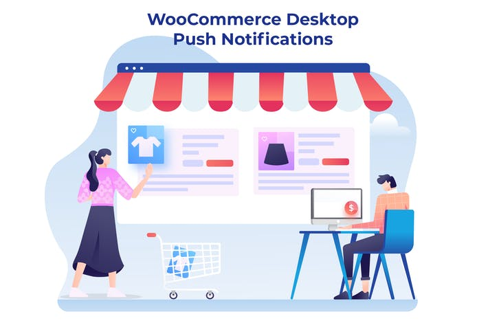 Thumbnail for WooCommerce Desktop Push-Benachrichtigungen