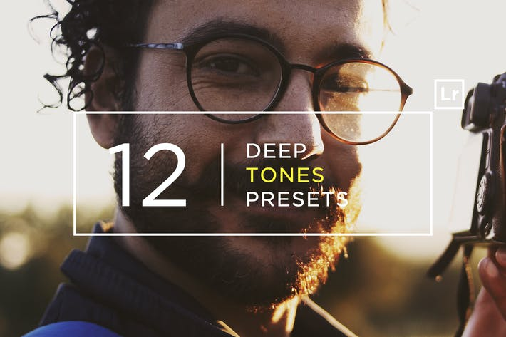 Thumbnail for 12 Deep Tones Lightroom Presets