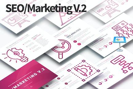 SEO/Marketing V.2 - Keynote Infographics Slides