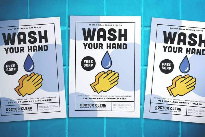 Thumbnail for Wash Hand Flyer