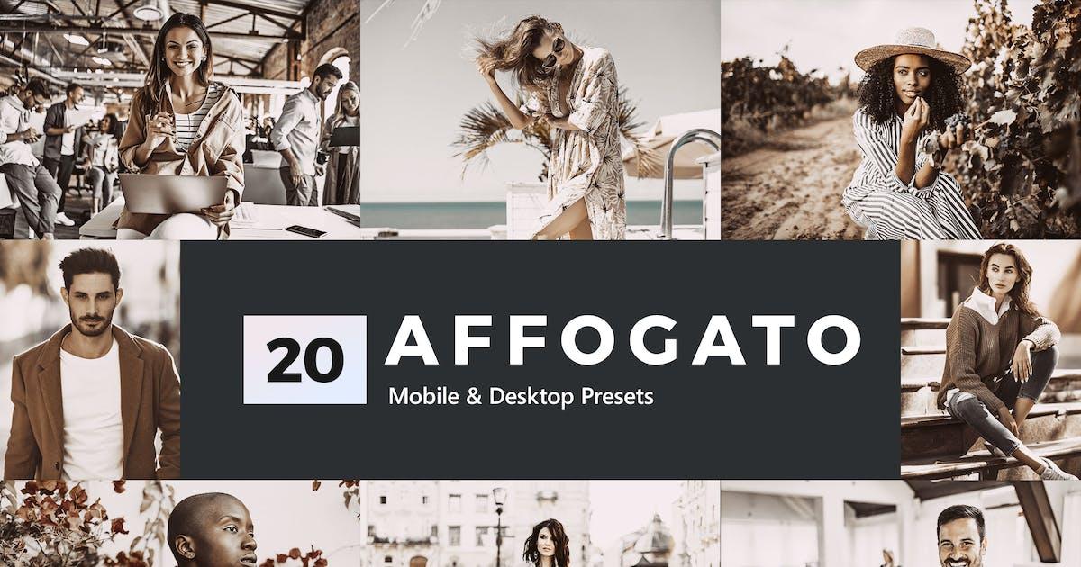 Download 20 Affogato Lightroom Presets & LUTs by sparklestock