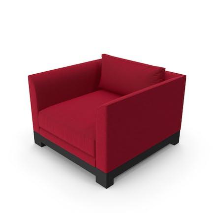 Silla Moderno roja