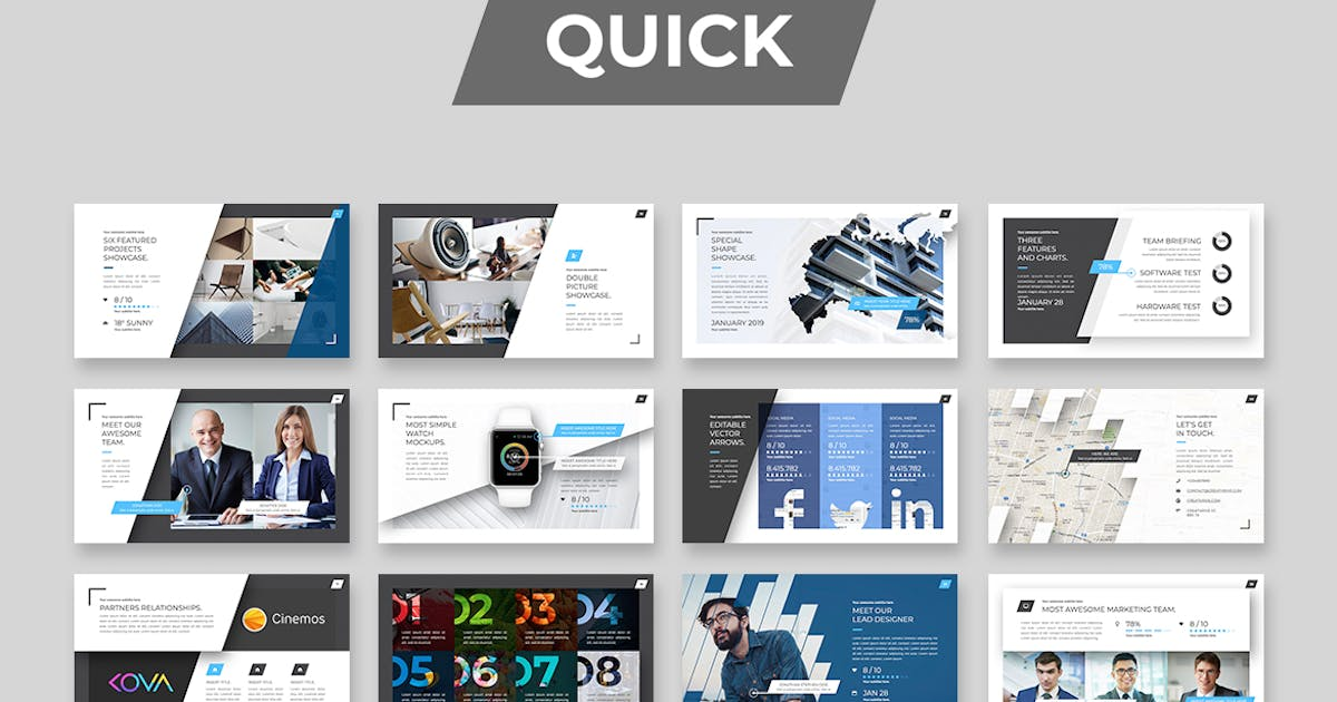 Download Quick PowerPoint by CreathriveDesign