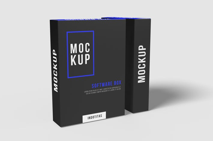 Thumbnail for Software Box Mockup