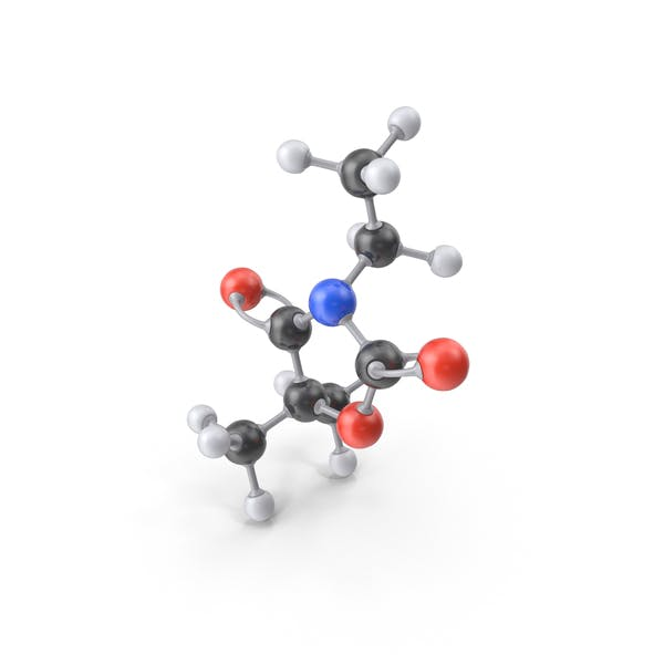 Thumbnail for Ethadione Molecule