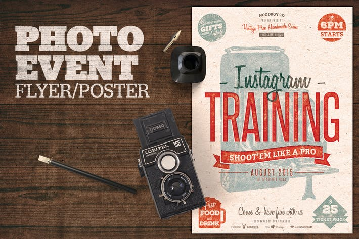 Thumbnail for Photography (Instagram) Event Flyer Poster