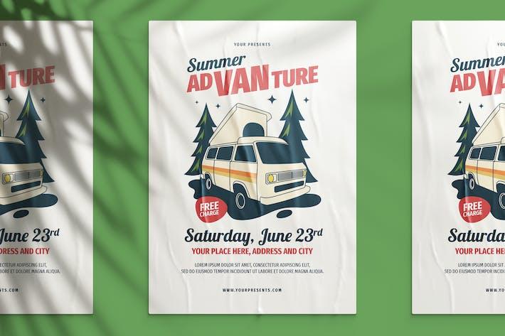 Thumbnail for Summer AdVanture Flyer