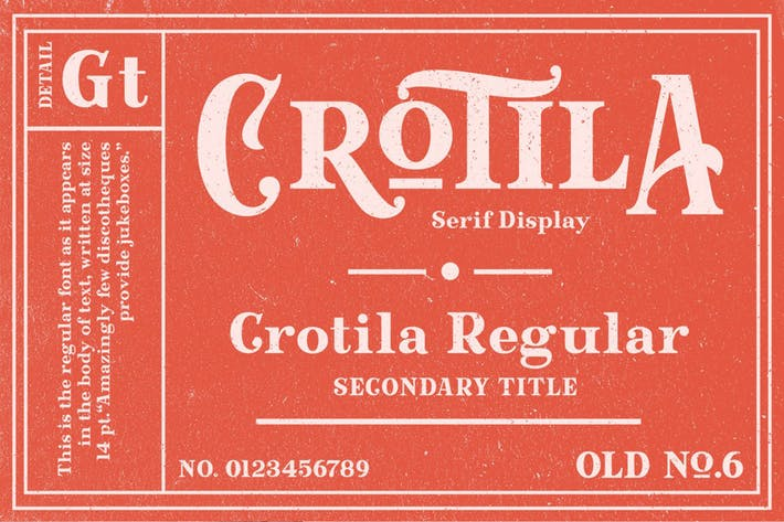 Thumbnail for Crotila - Présentoir à emSerif