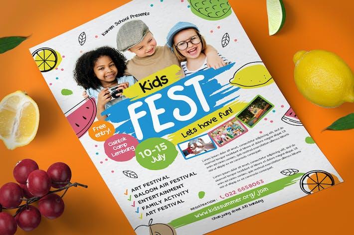 Thumbnail for Kinder Festival Flyer