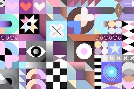 Abstraktes geometrisches