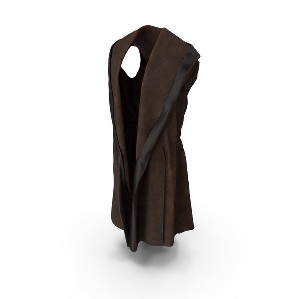 Vest Cloak with Hood