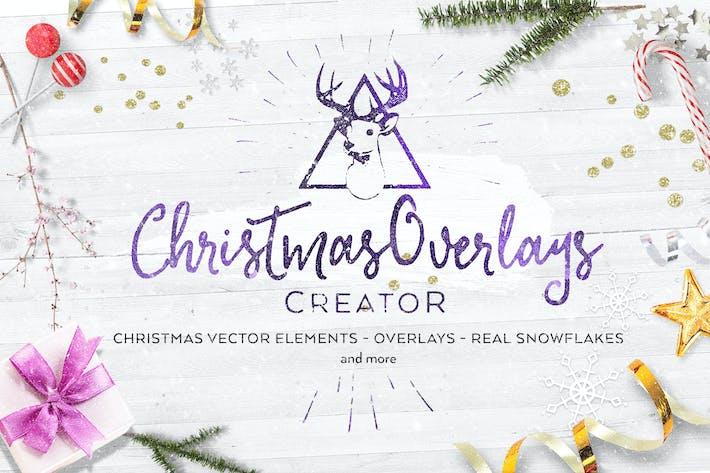 Thumbnail for Christmas Overlays Creator