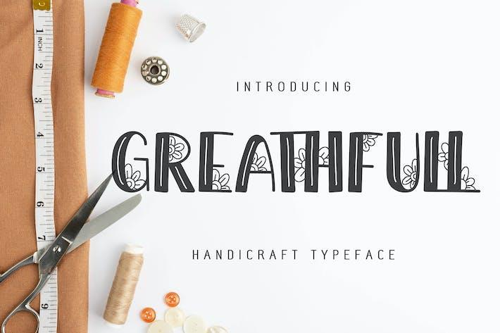 Thumbnail for Greathfull | Caractères Artisanat