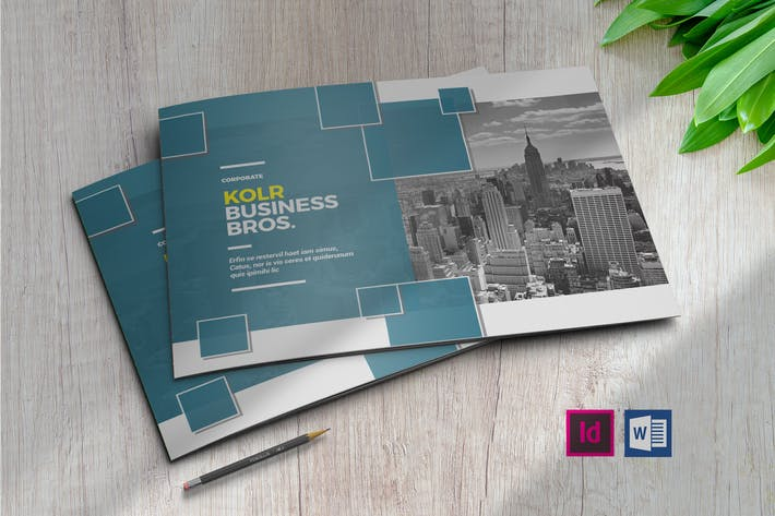 Thumbnail for Kolr | Booklet Brochure Template