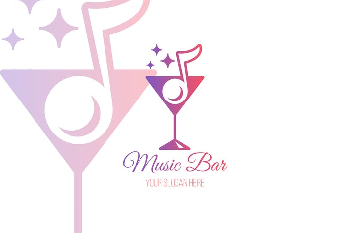 Thumbnail for Music Bar Logo Template