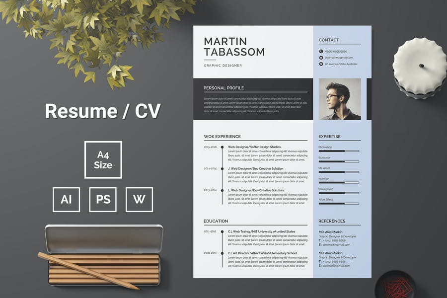 Resume Template 94