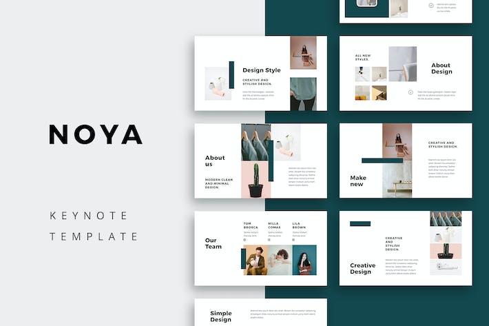 Thumbnail for NOYA - Keynote Template
