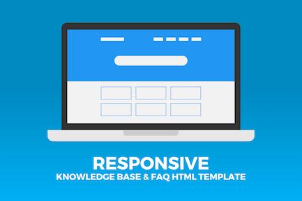 Responsive Knowledge Base & FAQ HTML Template