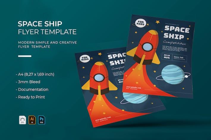 Space Ship | Flyer