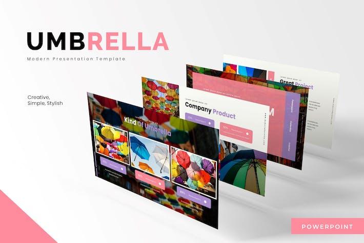 Thumbnail for Umbrella Term - Powerpoint Template