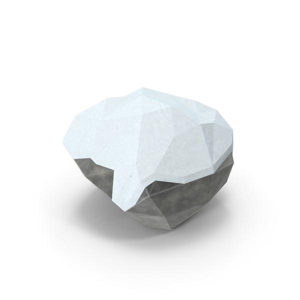 Thumbnail for Boulder cubierto de Nieve baja Poli