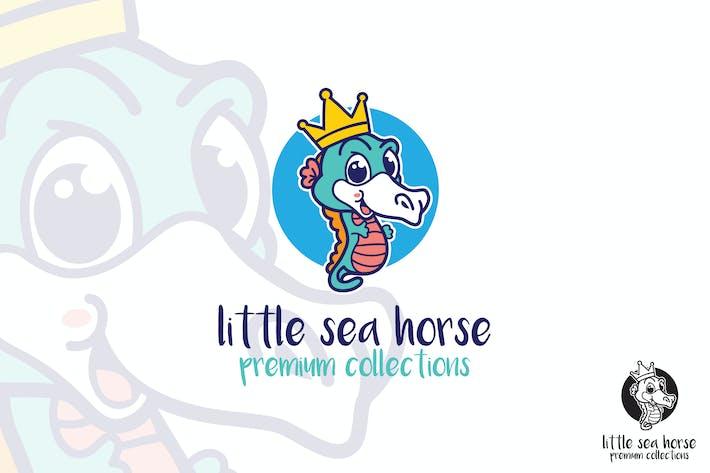 Thumbnail for Little Sea Horse Logo Mascot