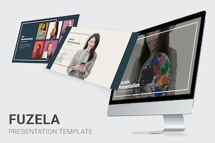Fuzela - Model Agency Powerpoint