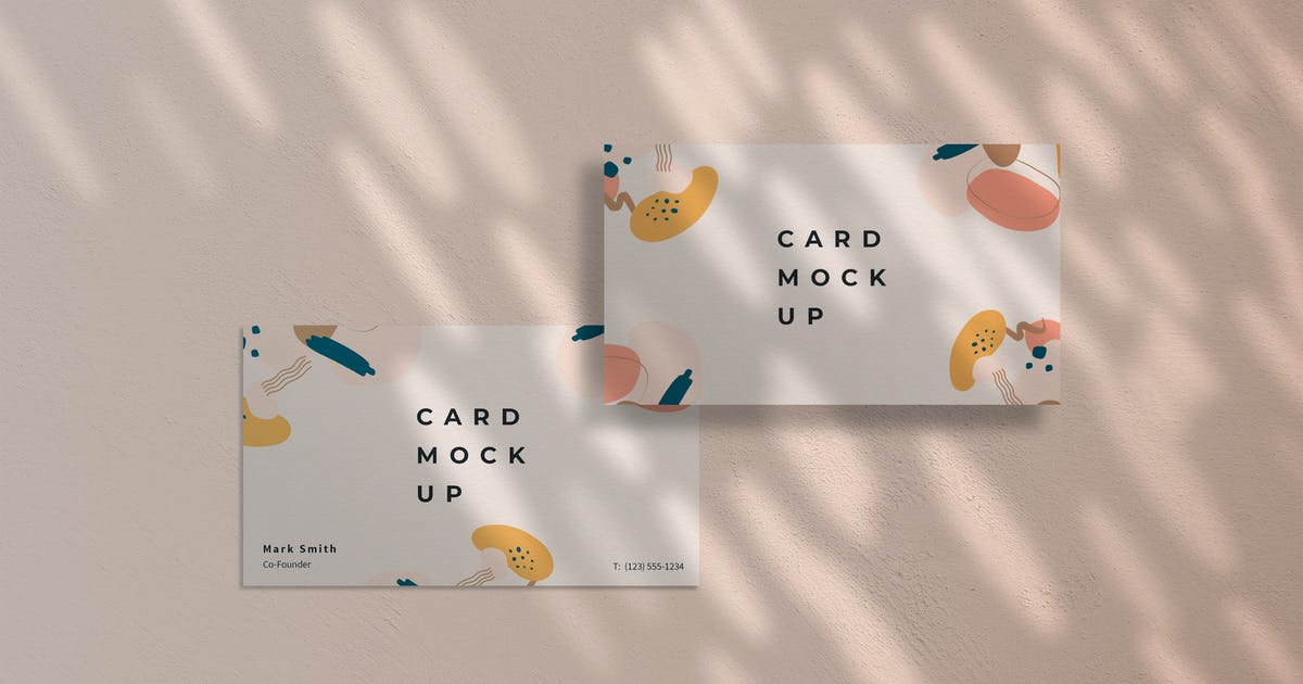Download Business Card Mockup PSD Template by ExplicitConcepts
