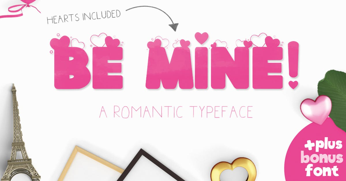 Download Be Mine Font by maroonbaboon